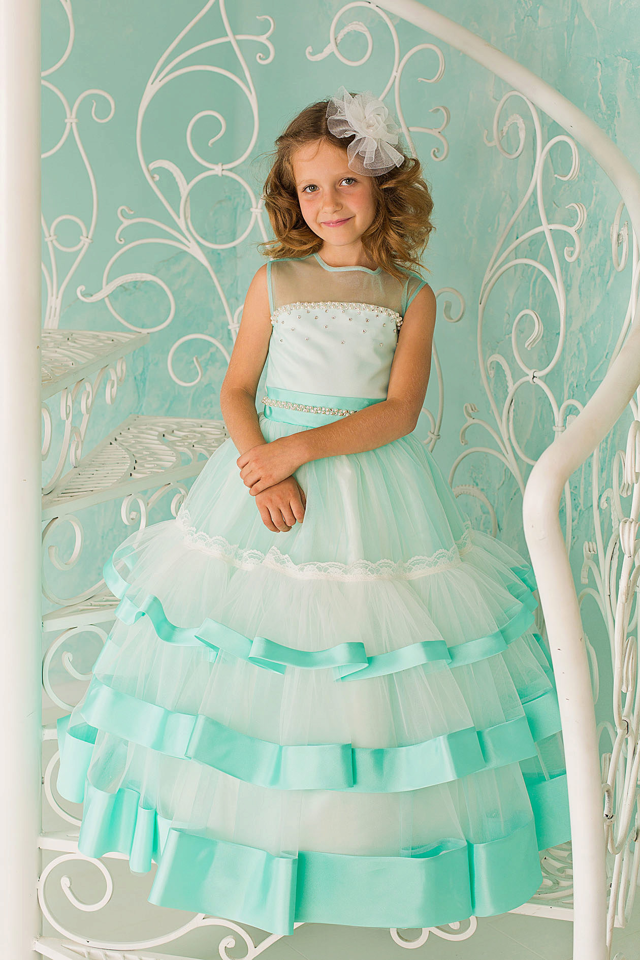 Платья для девочек 12