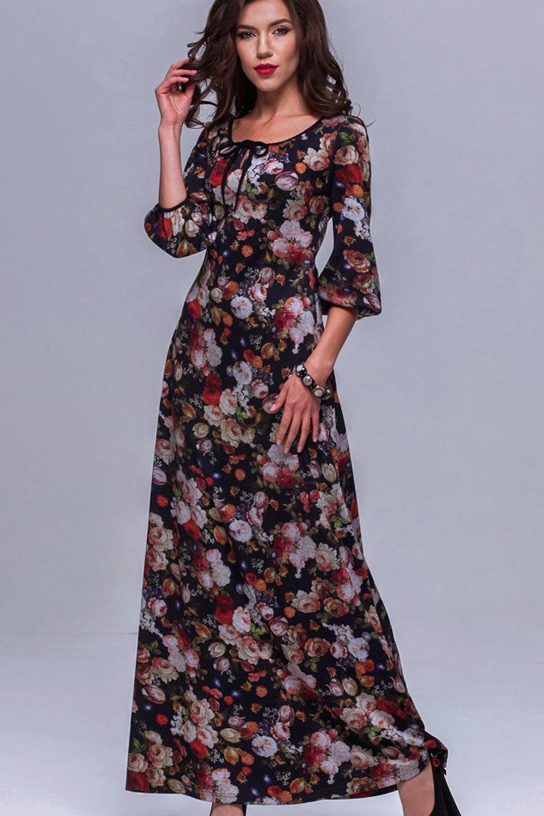 платья из поплина фото