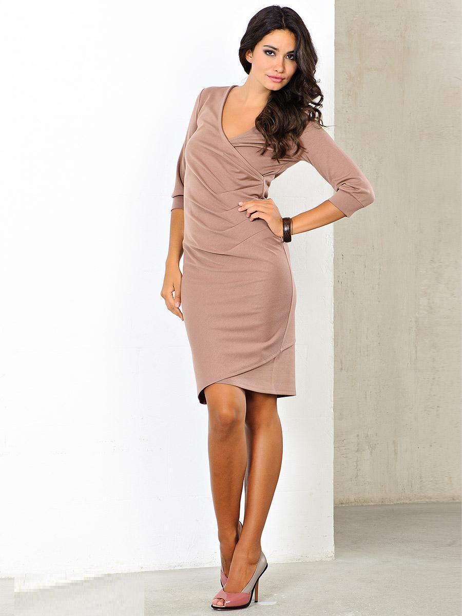 Модели платья из сатина фото