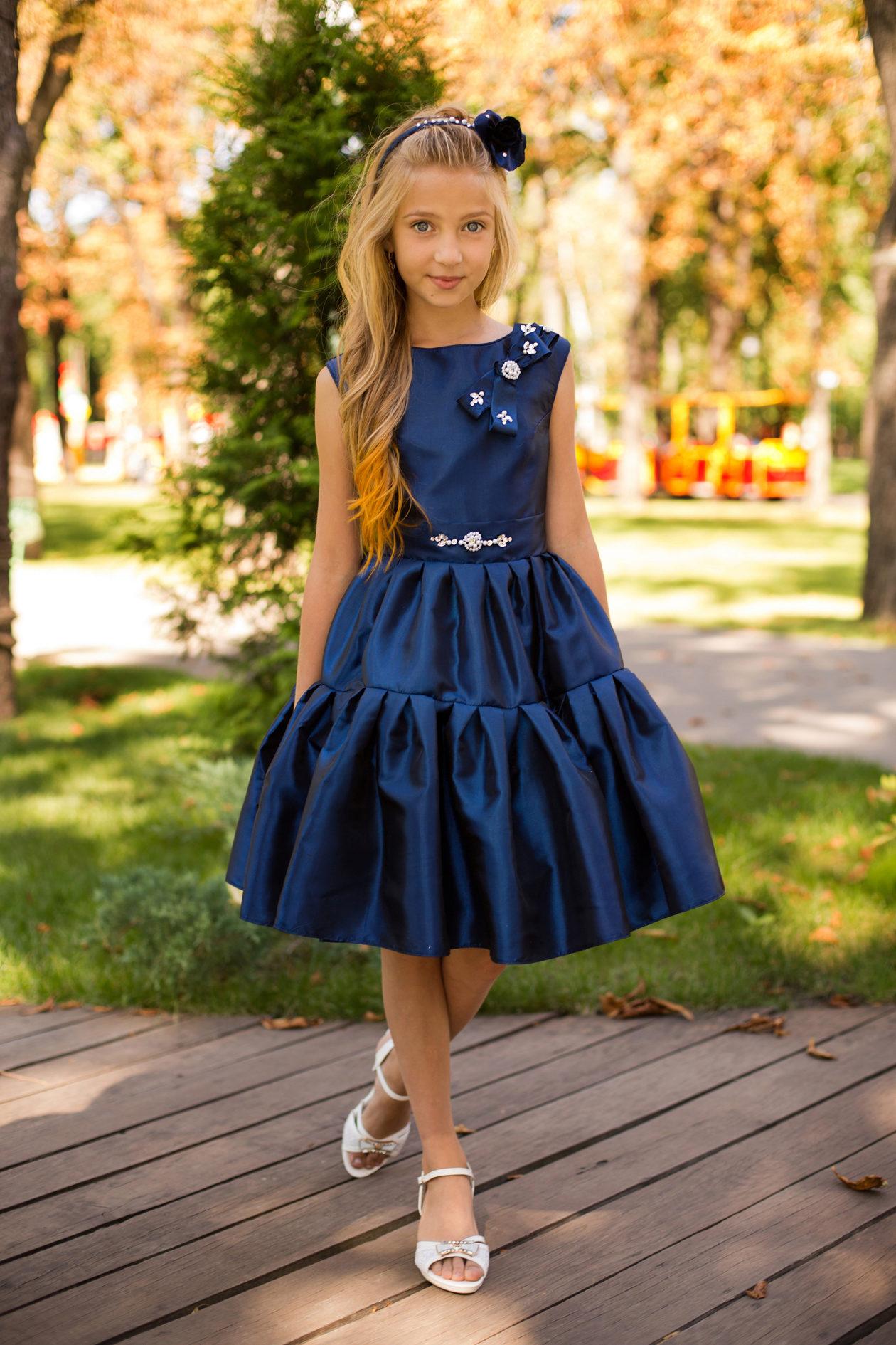 Бальное платье для девочки 4 класс