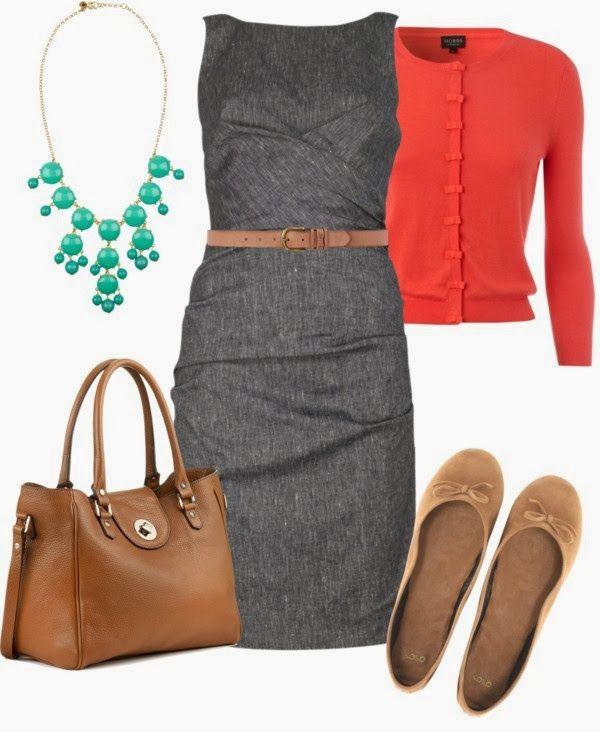 Как носить платье чехол