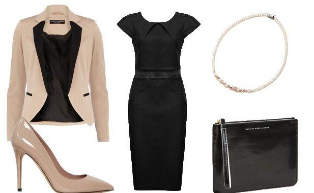 621cdf7db73 С чем носить платье-футляр (51 фото)  аксессуары для черного