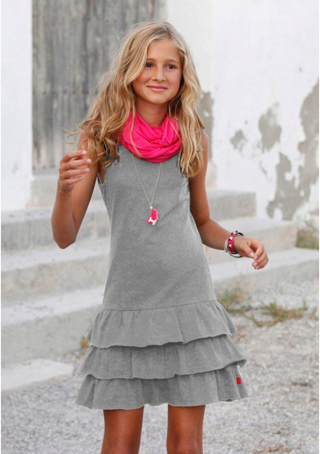 c5b833f8694 Трикотажные платья для девочек  платья из трикотажа для 2