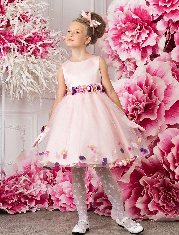 Выпускное нарядное детское платье