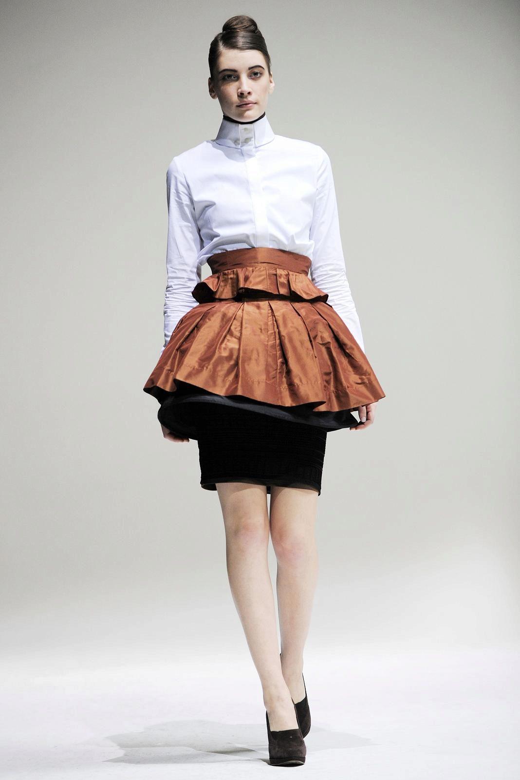 Для юбки воланами