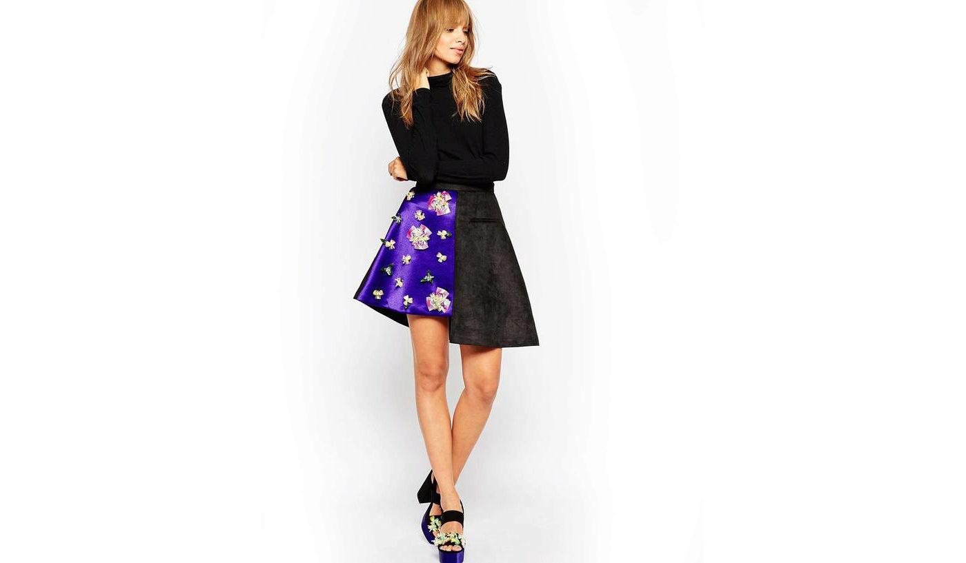 000-asimmetrichnye-yubki-60 Асимметричная юбка - фото основной детали элегантного стиля