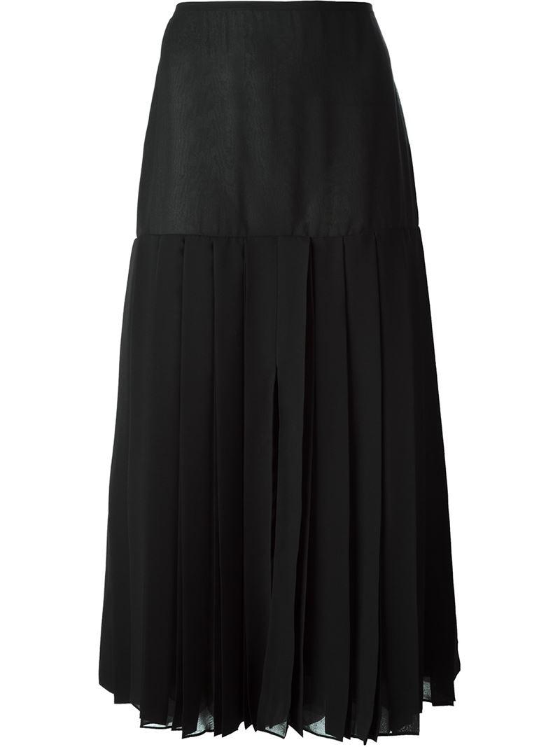 Длинная юбка зимой