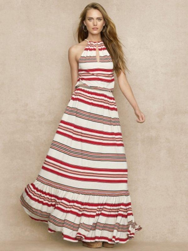 Как быстро сшить длинное летнее платье своими руками