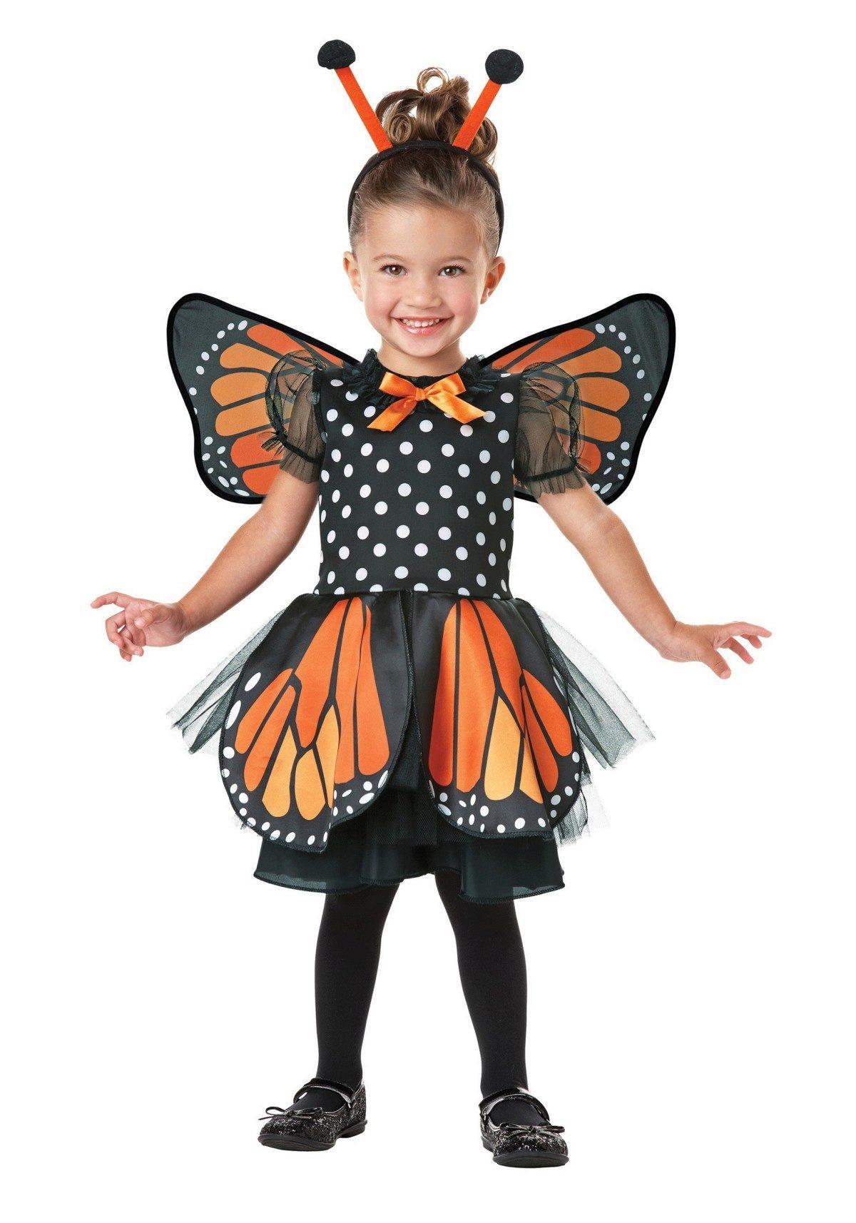 Новогоднее платье для девочки 2 лет бабочка