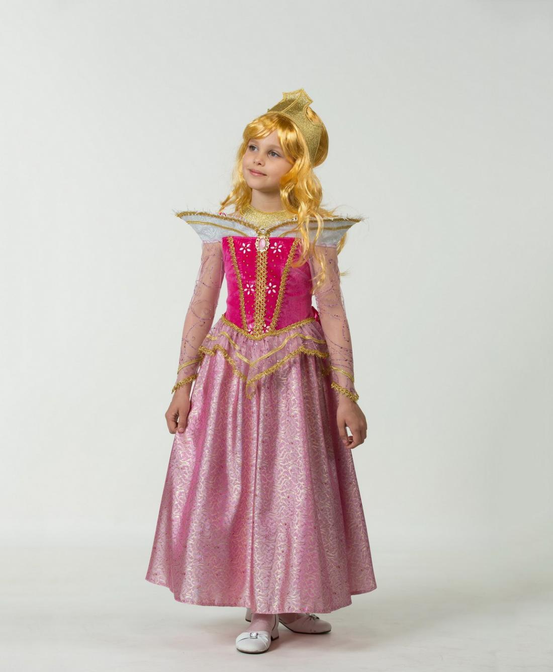 Новогоднее платье принцессы для девочки