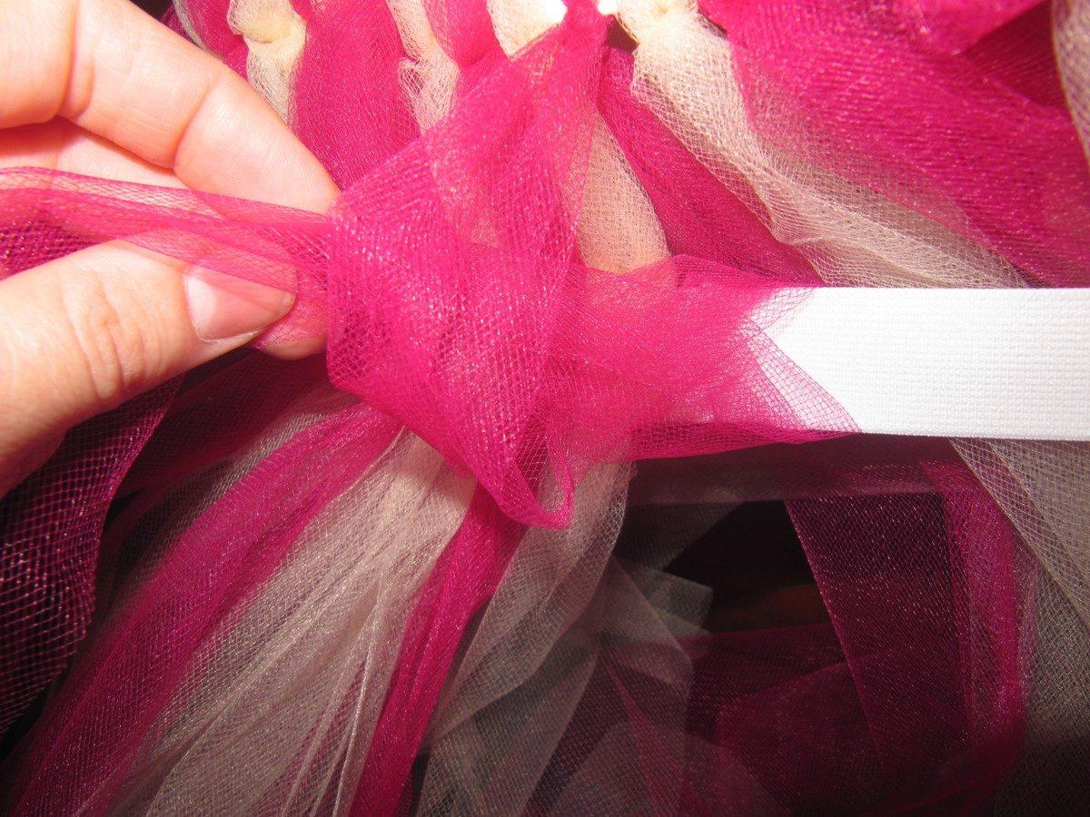 Как сшить юбку из тюли своими руками мастер класс 97