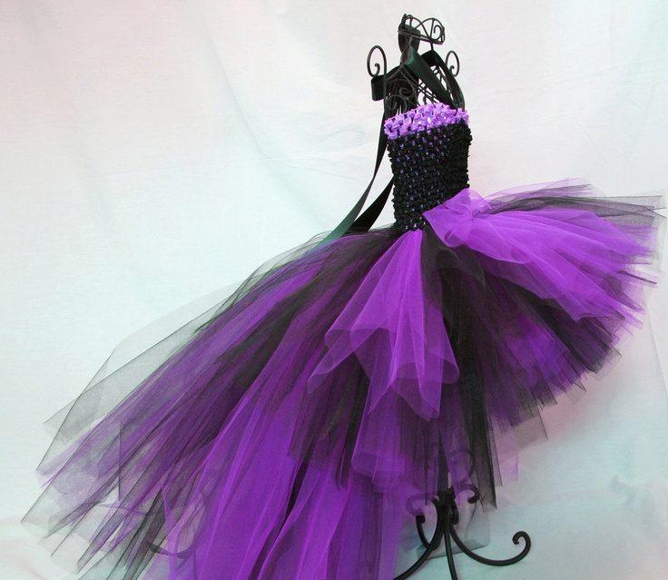 Сшить платье с фатина 95