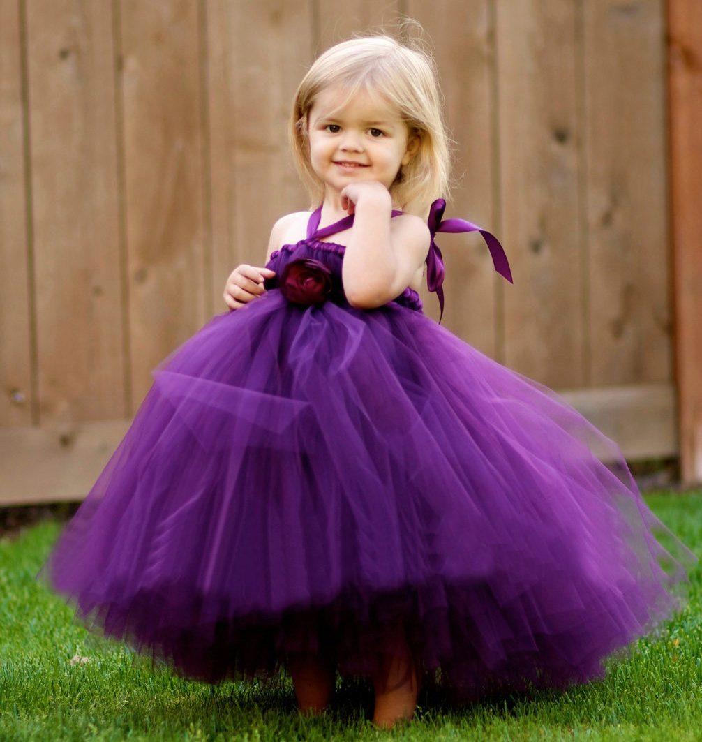 Платье с пышной юбкой от 1 года