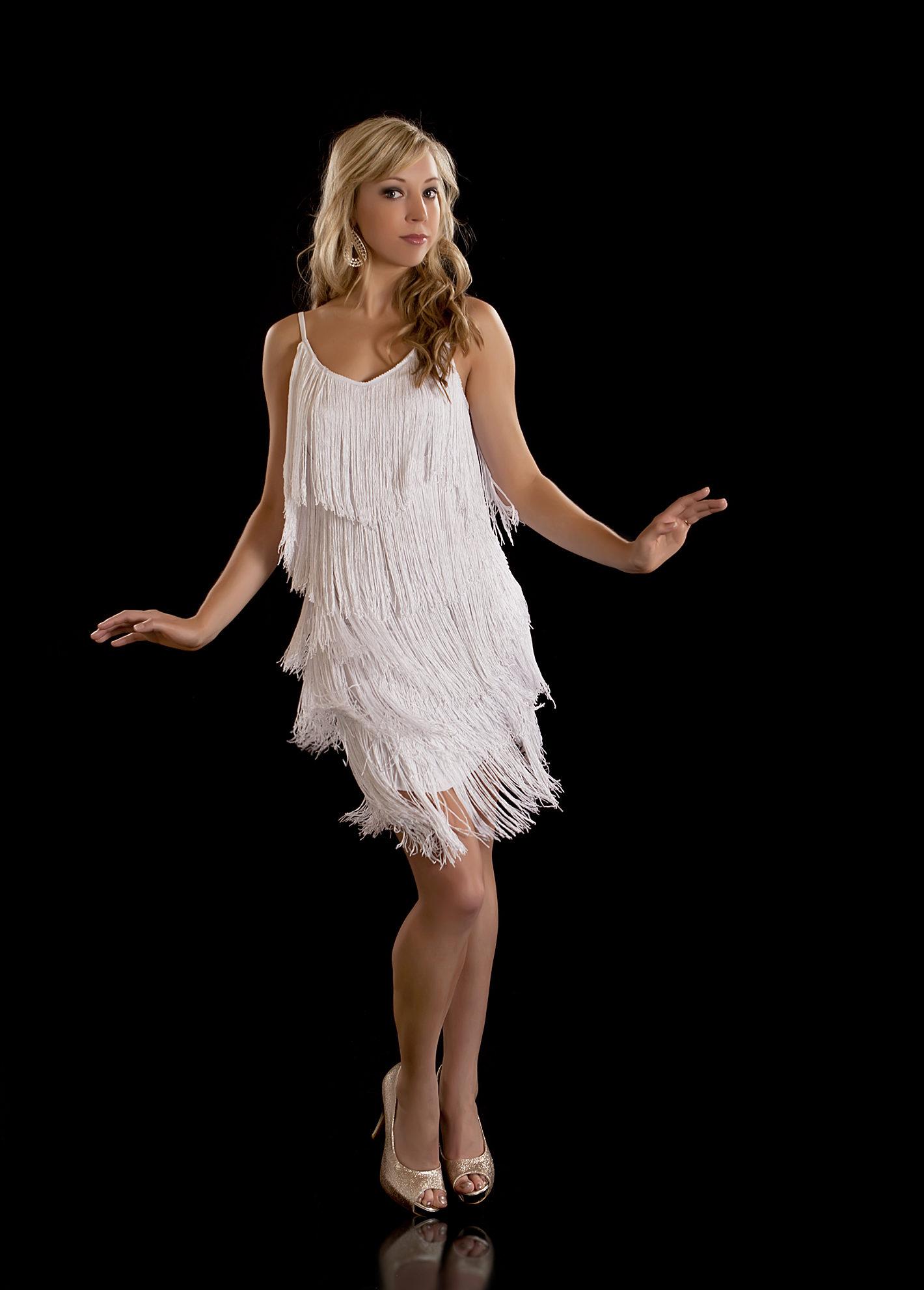 Платье в стиле чарльстон