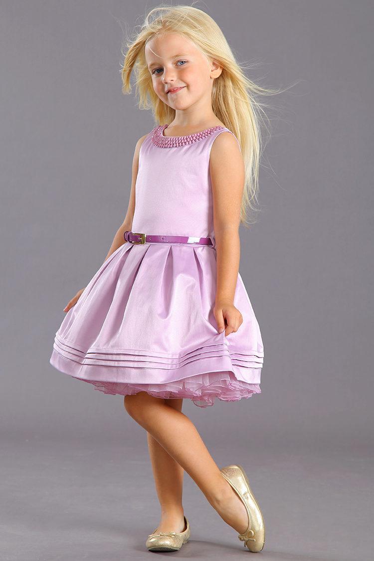 Пышное платье для девочек 5 лет