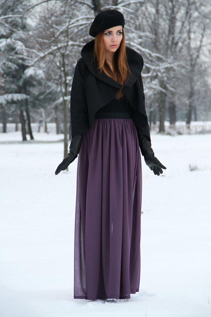 Длинная юбка своими руками фото