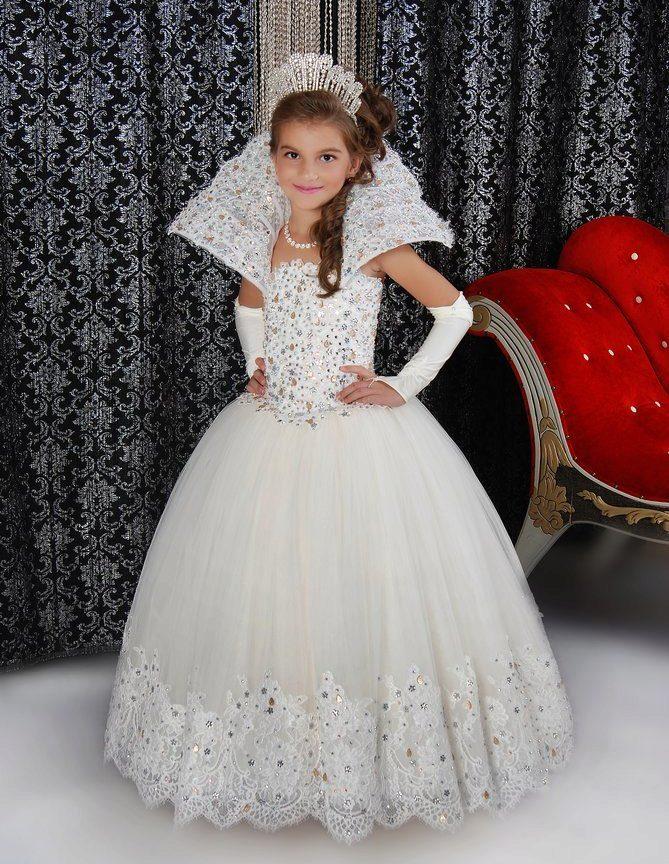 Пышные платья для девочек