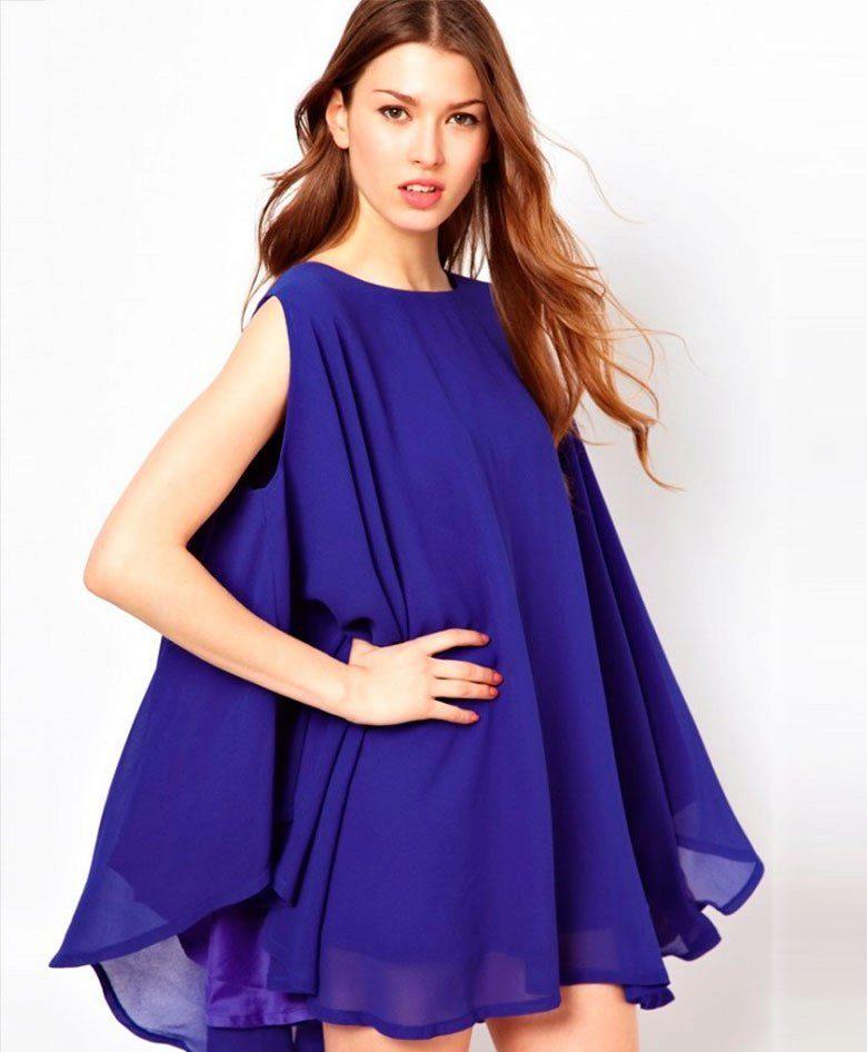 Выкройка расклешённого платья для девочки