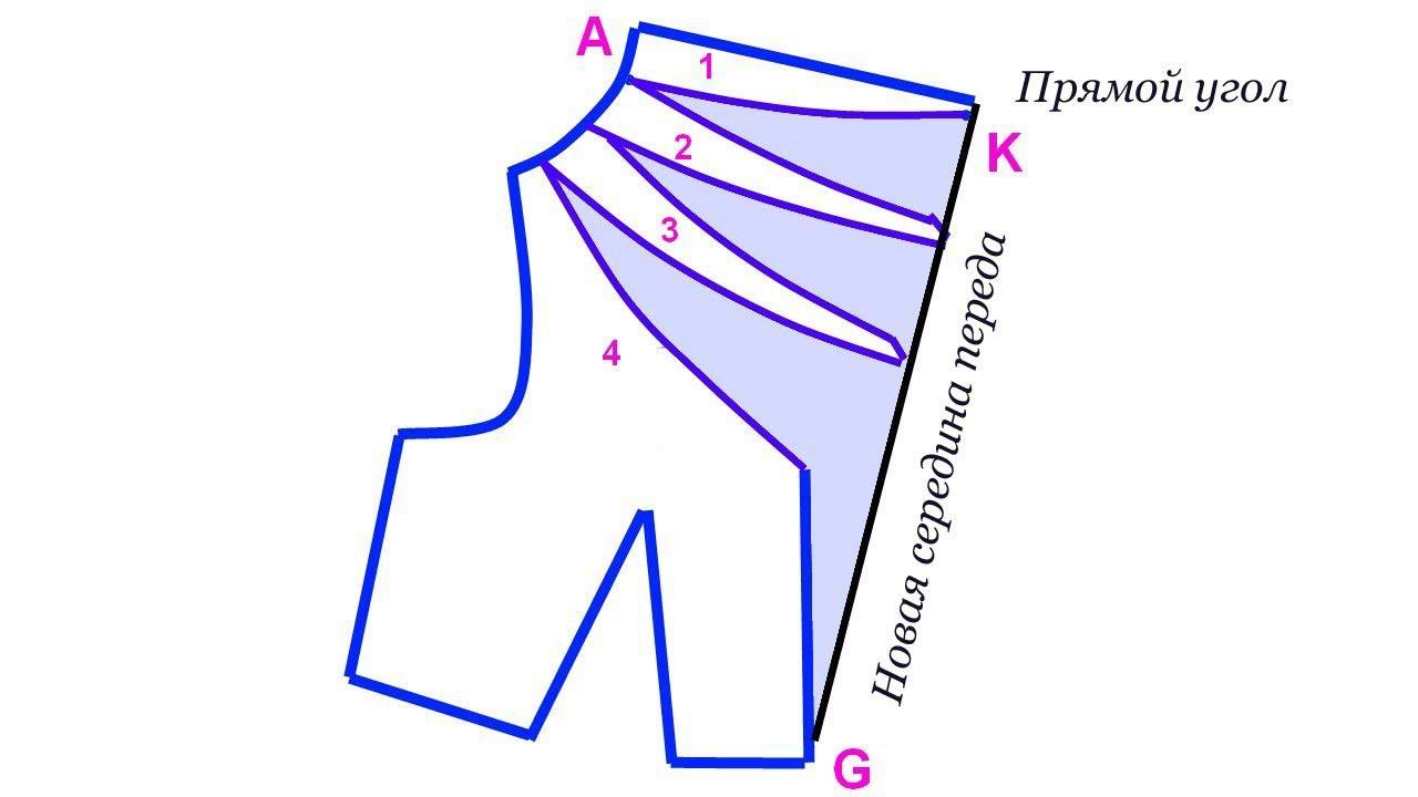 Выкройка воротника треугольный фото 497