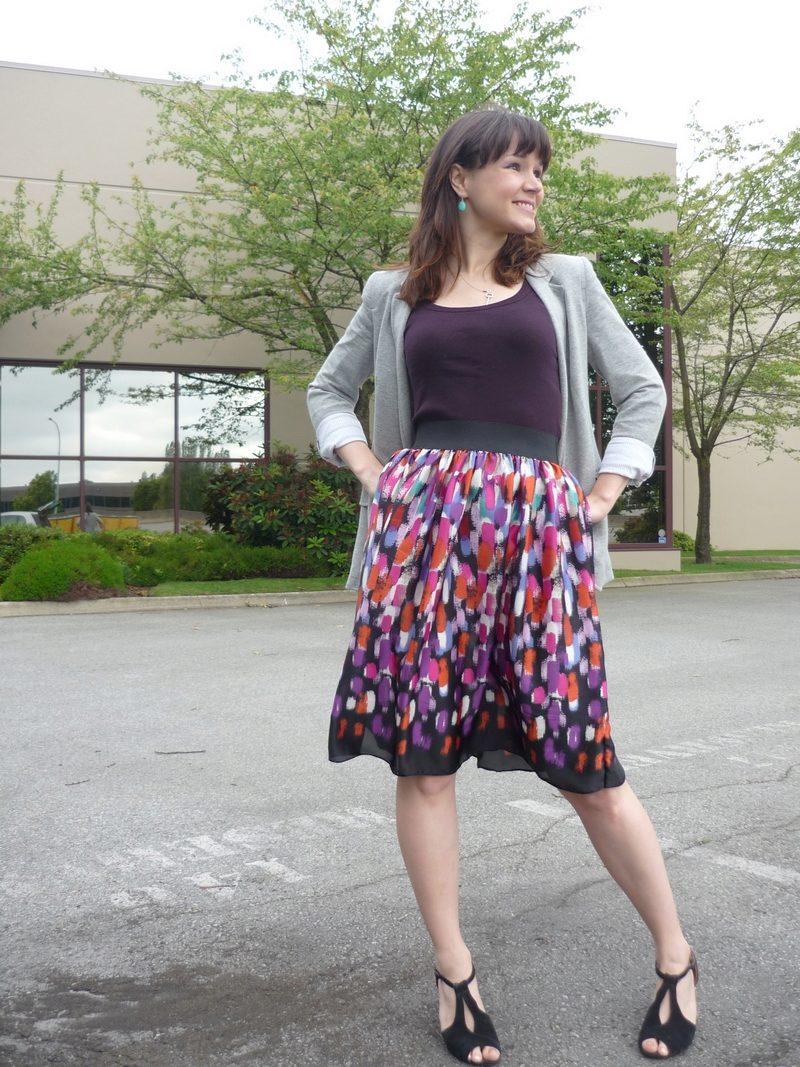 Сшить юбку без выкройки полусолнце 175
