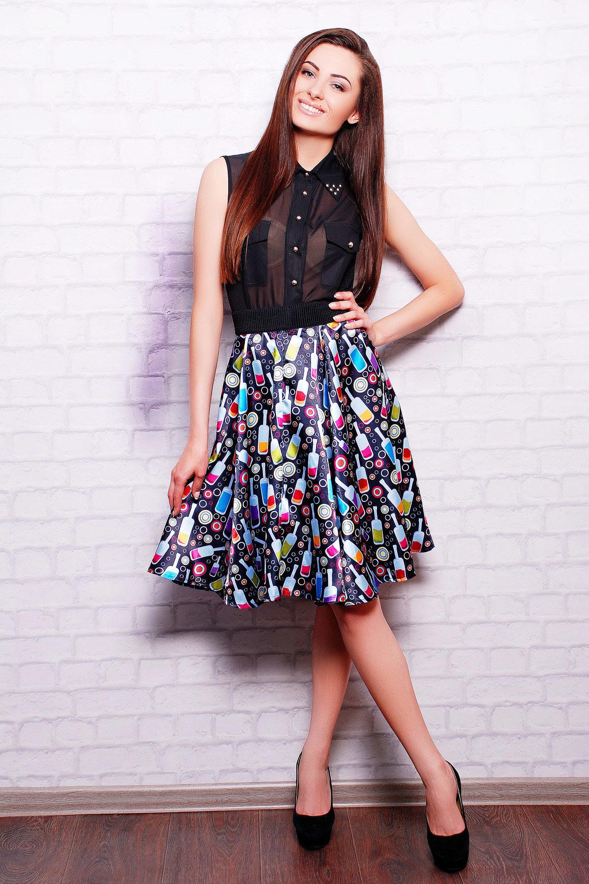 Как сделать юбку тюльпан фото 990