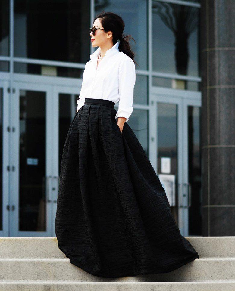 Длинная юбка солнце
