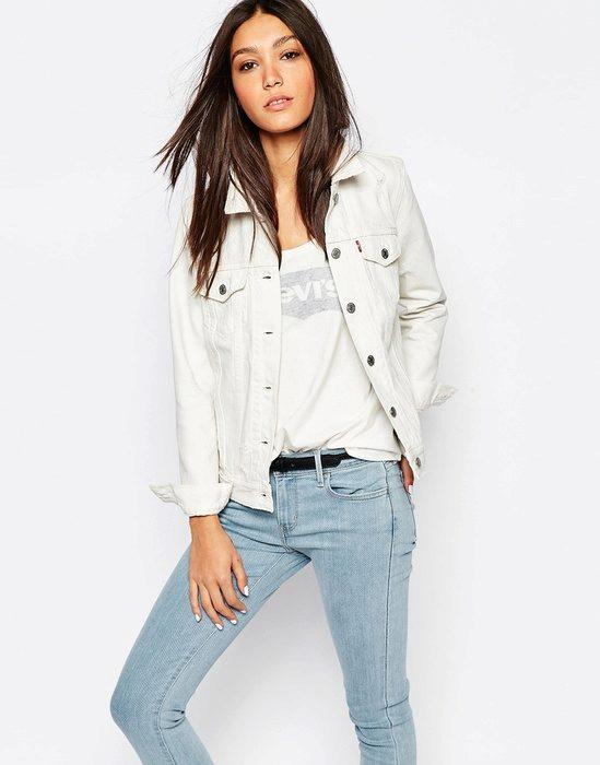 Куртка белая джинсовая детская