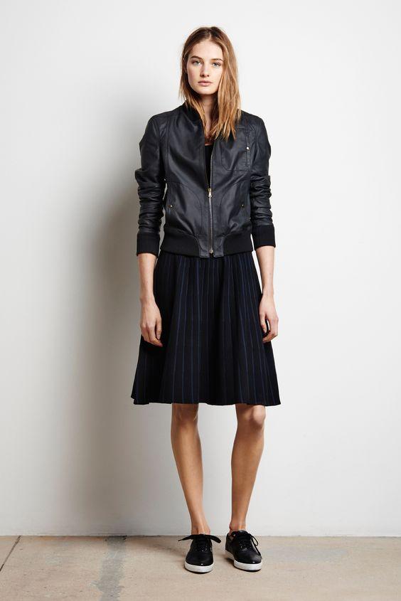 Куртка резинка юбка