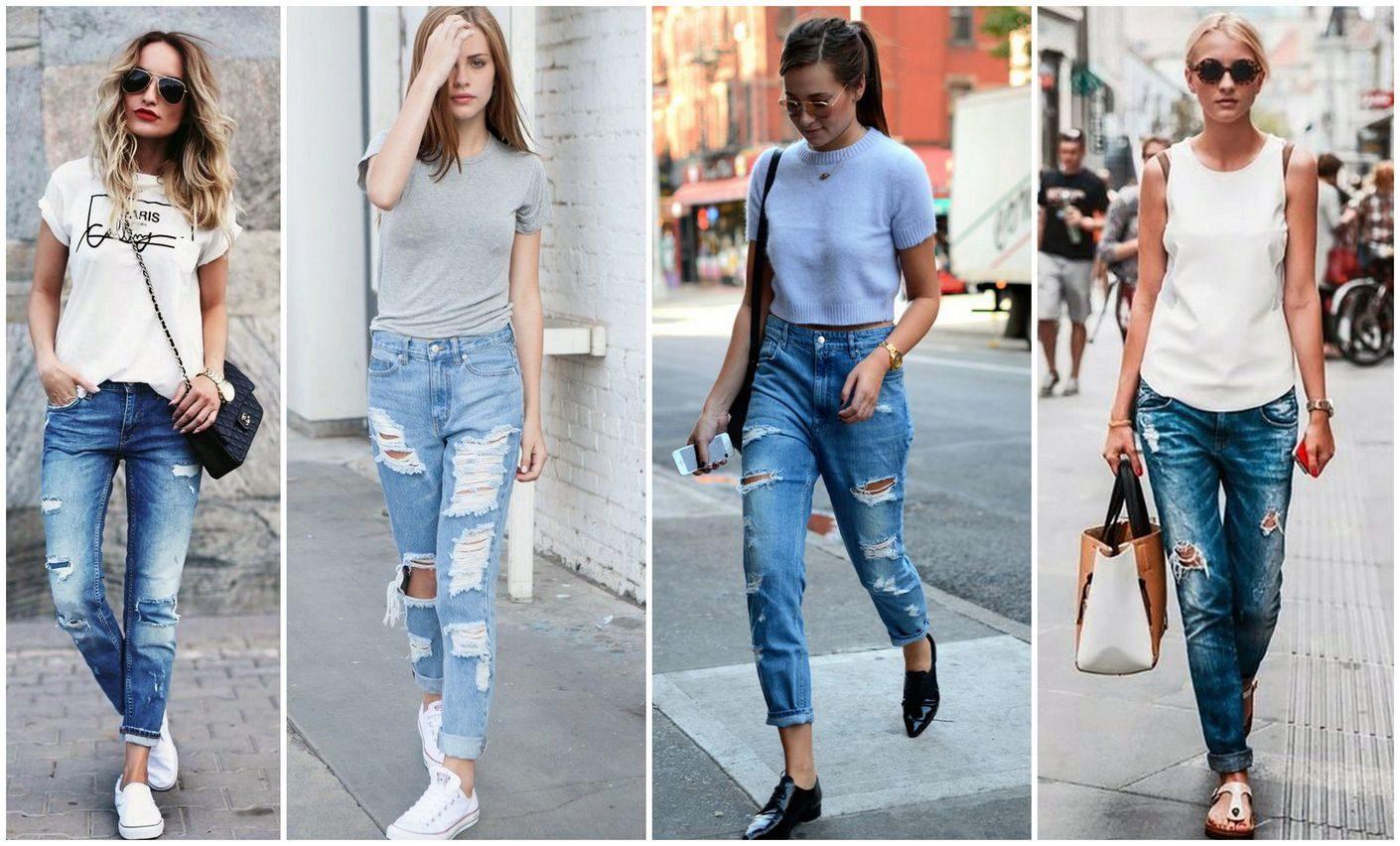 Полуобнаженные женщины в обтягивающих джинсах как делают эпиляцию