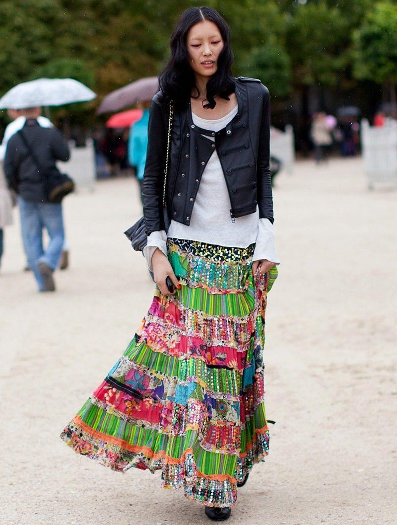 Цыганские юбки фасоны