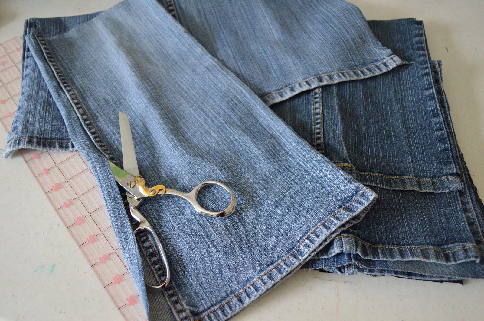 Сшить джинсовую жилетку для девочки из старых джинс фото 565