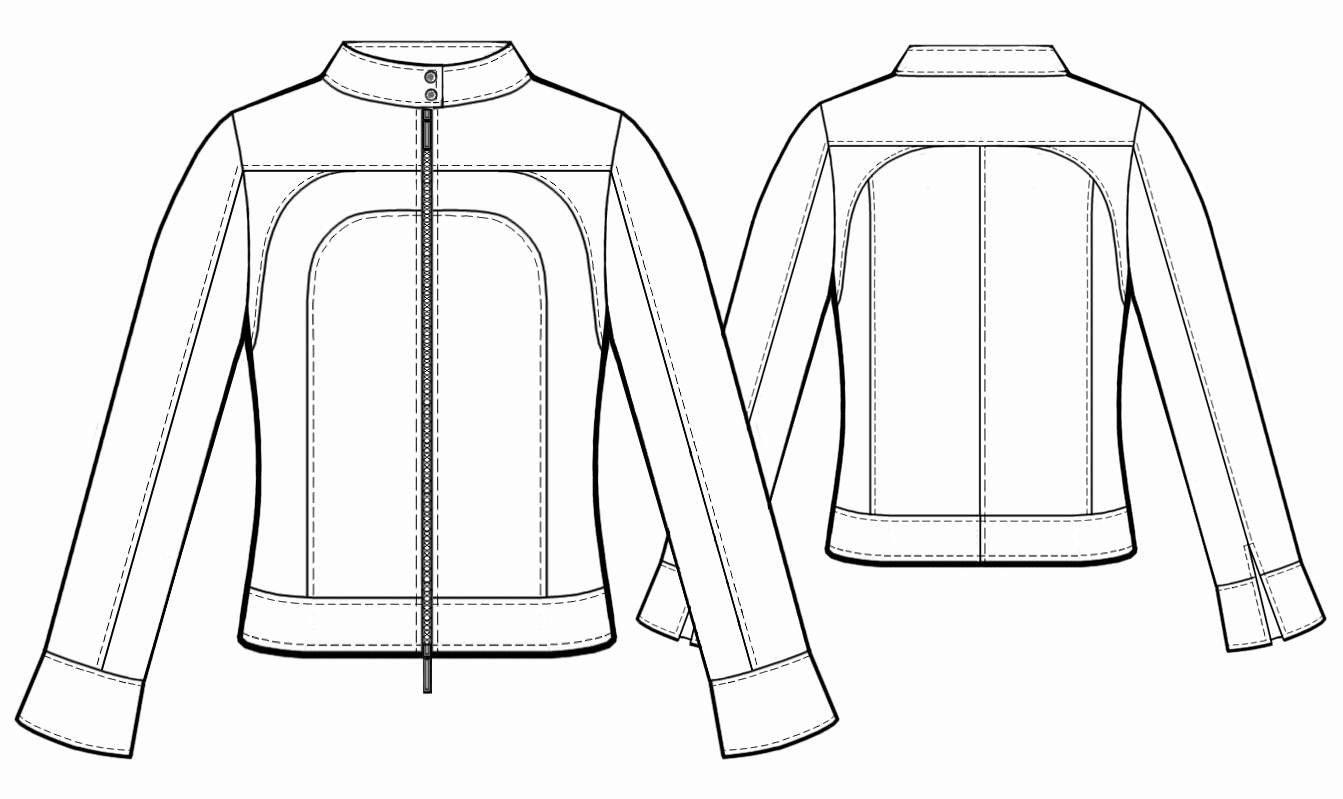 Жакеты и куртки выкройки