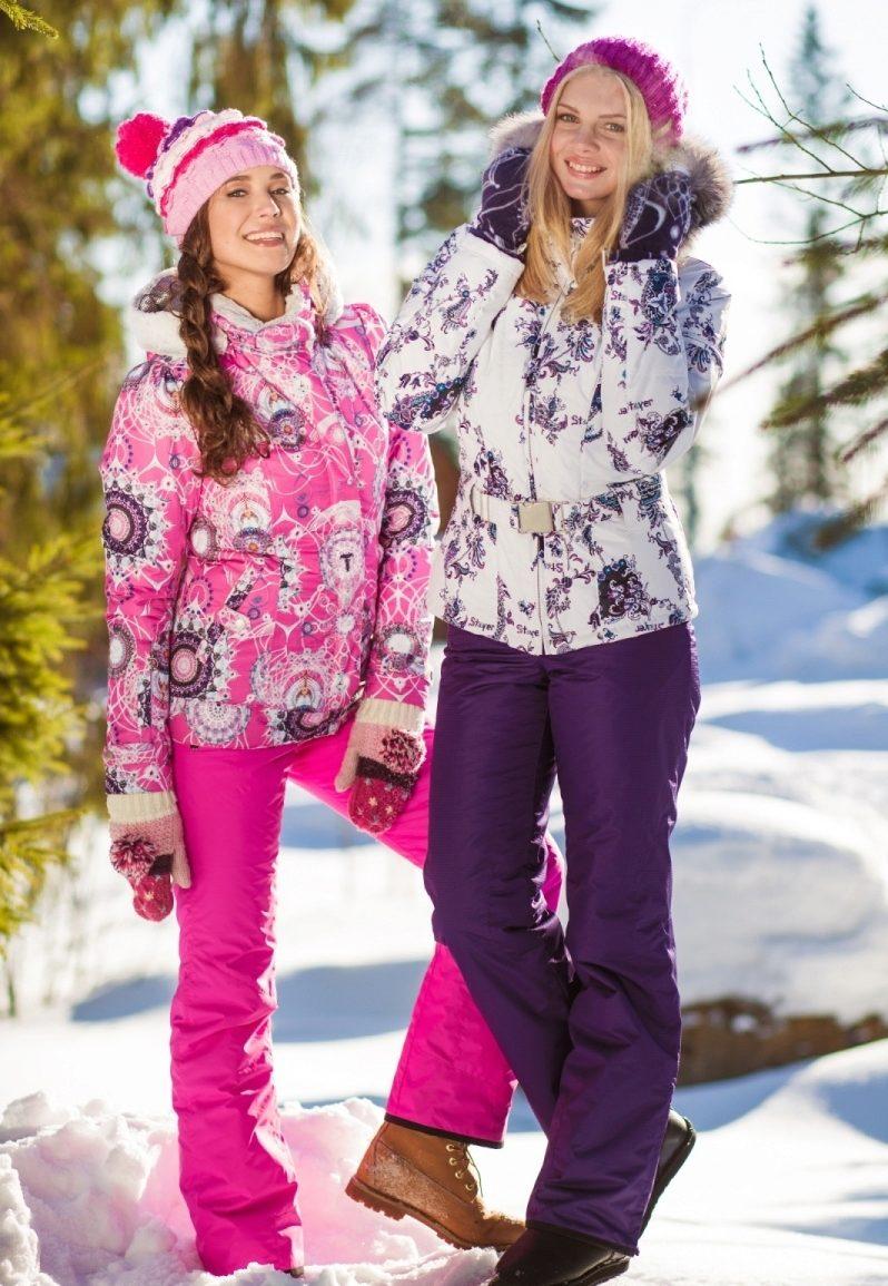Фото горнолыжные костюмы женские