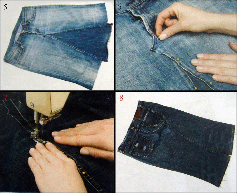 Как делать шорты из джинсов своими руками