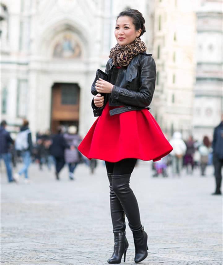 Пышные классические юбки