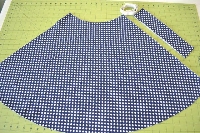 Как сшить юбку из полосок 772