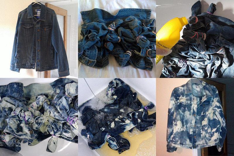 Как обновить джинсовую куртку своими руками 95