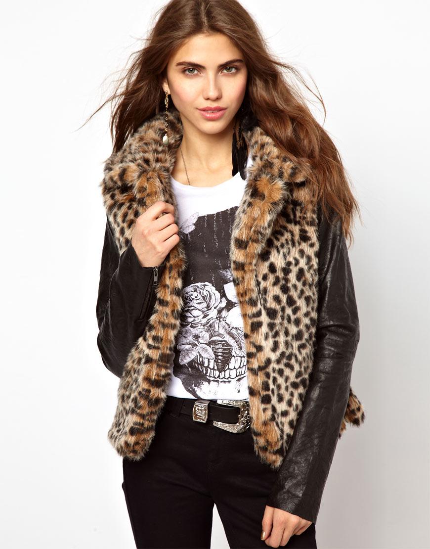 Стильная меховая куртка 125