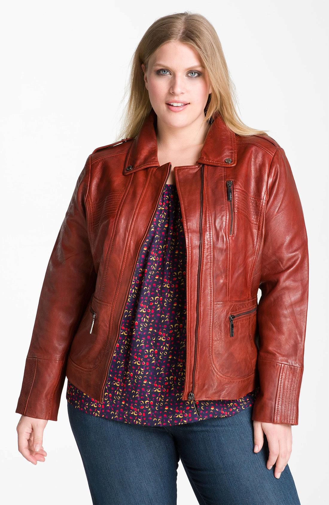 женские кожаные куртки больших размеров 2