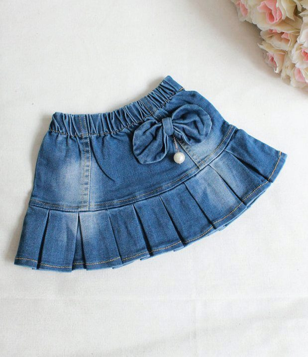 Сшить джинсовую юбку для девочки 2 года 15