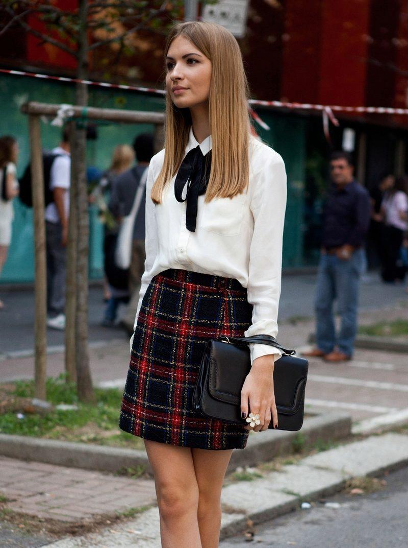 Школьная юбка в складку своими руками фото 820
