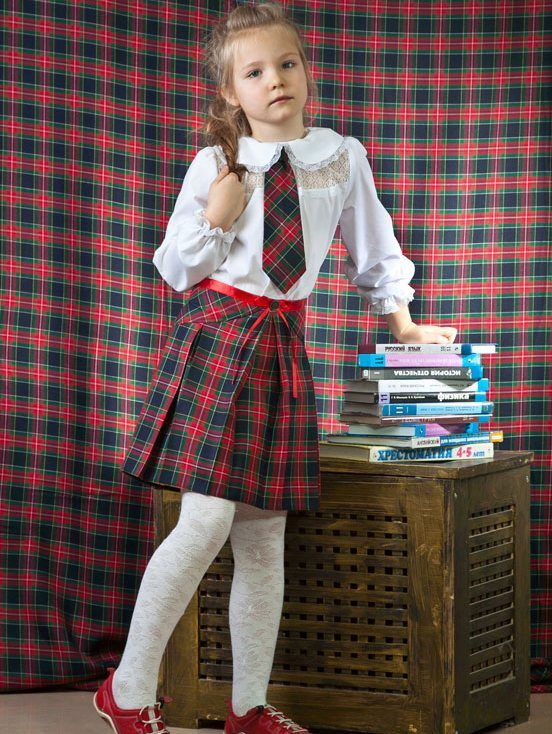 Школьной юбки для девочки 13 лет