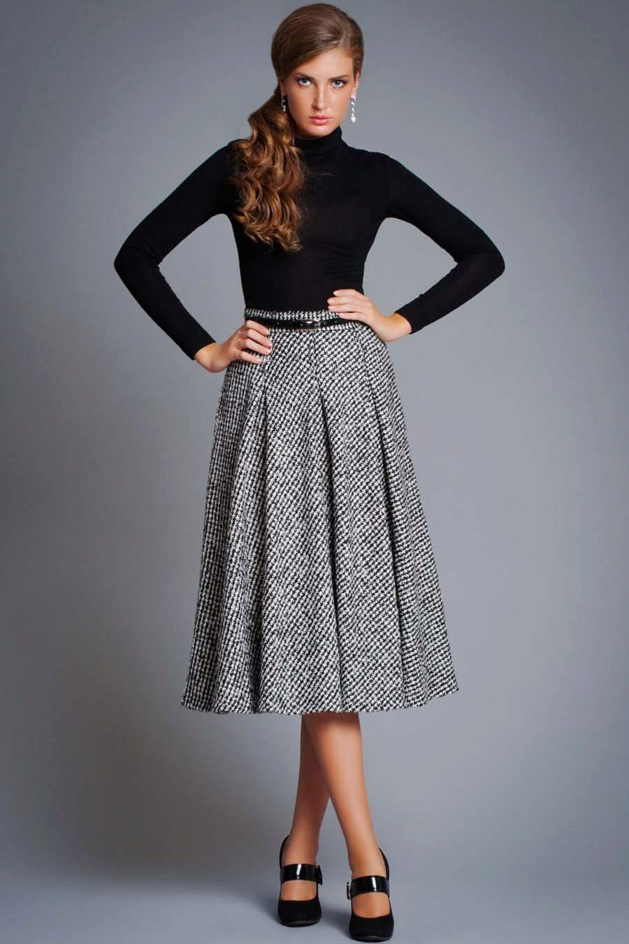 Модели юбки