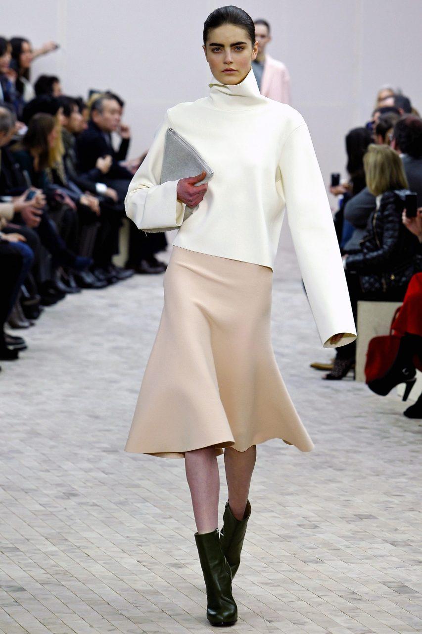 Стильный образ с юбкой годе
