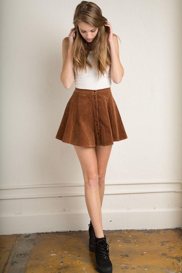 Вельветовая юбка как сшить