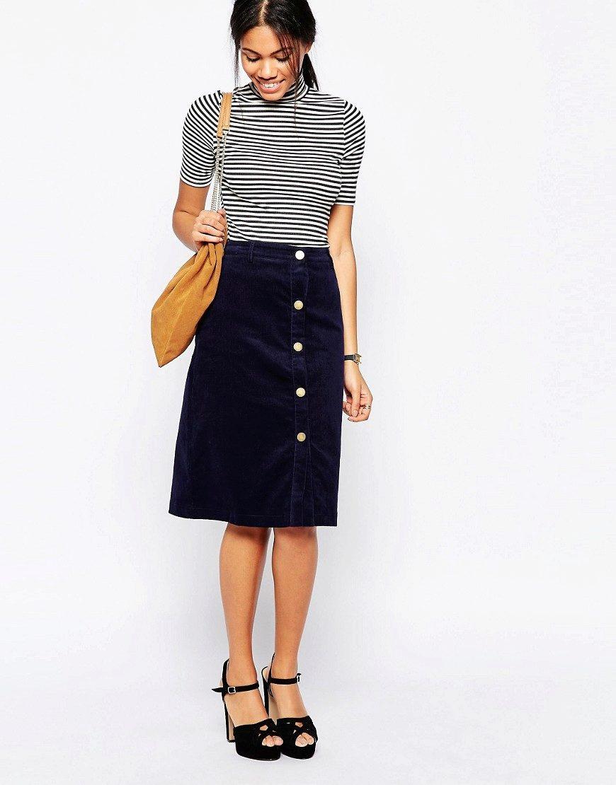 Модель строгой юбки
