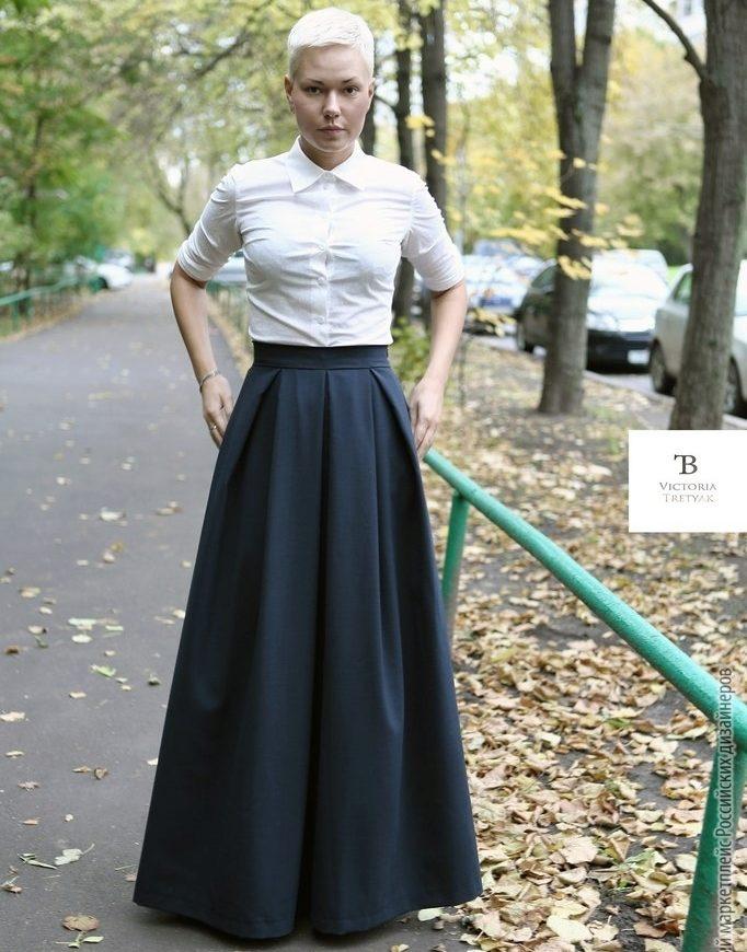 Материал для юбки макси