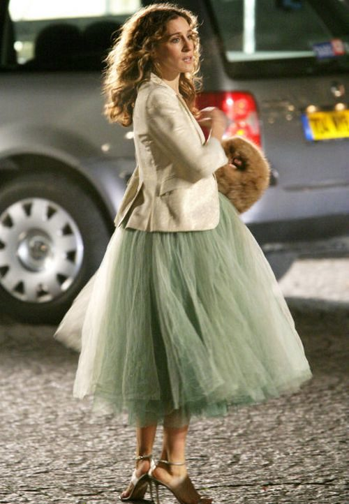 Кэрри брэдшоу и юбка пачка