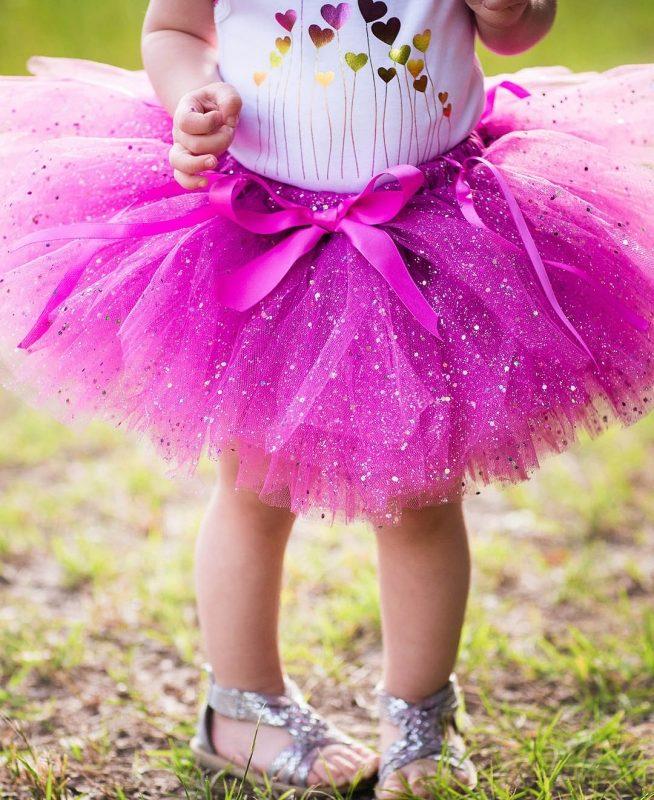 Пышная юбка малышке