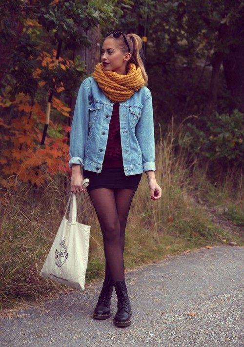 Как правильно носить юбку с сапогами, ботильонами и ботинками
